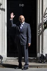 © Licensed to London News Pictures . 11/05/2015 . London , UK . SAJID JAVID arrives at 10 Downing Street this morning (11th May 2015) . Photo credit : Joel Goodman/LNP