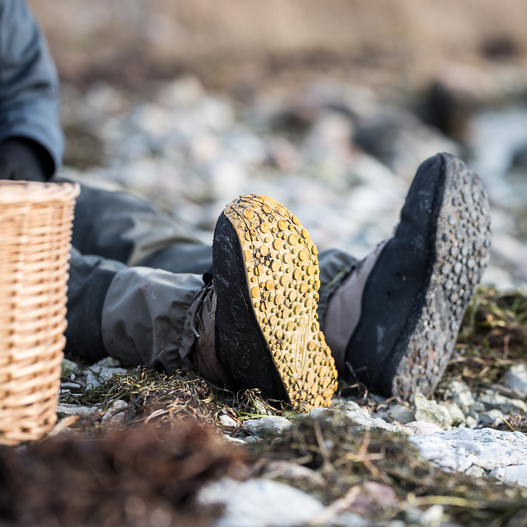 24 November 2016, Gotland, Sweden: A day of fishing for seatrout along the Gotland coastline, with instruction by guides from Fish Your Dream.