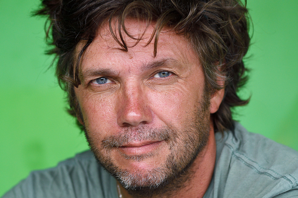 Photographer Magnus Lundgren, Lobo village, Triton Bay, Western Papua, co-author of the book PAPUA - AMONG BIRDS OF PARADISE AND MANTA RAYS