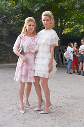 Kathy Hilton and Nicky Hilton arriving at the Giambattista Valli show during Haute Couture Paris Fashion Week Fall/Winter 2018/19 in Paris, France on July 02, 2018. Photo by Julien Reynaud/APS-Medias/ABACAPRESS.COM
