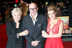 © Licensed to London News Pictures. 19/12/2013, UK. <br /> Harry Hill; Julie Walters; Sheridan Smith, The Harry Hill Movie - World film premiere, Vue West End, London UK, 19 December 2013. Photo credit : Richard Goldschmidt/Piqtured/LNP