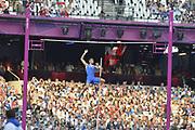 Olympic Stadium, Stratford, London, United Kingdom<br /> <br /> Description:<br /> <br /> 2012 London Olympic, Athletics, <br /> . <br /> <br /> 19:01:49  Friday  10/08/2012 [Mandatory Credit: Peter Spurrier/Intersport Images]