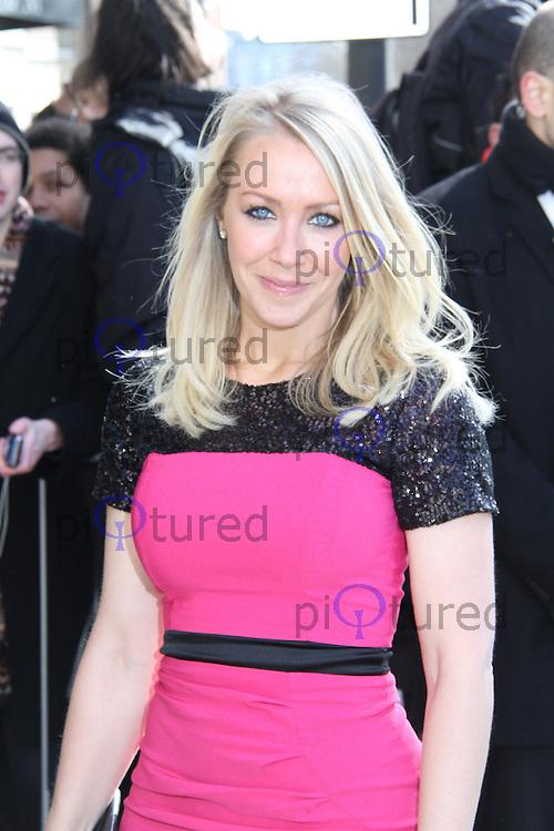 Laura Hamilton, TRIC Awards, Grosvenor House Hotel, London UK, 12 March 2013, (Photo by Richard Goldschmidt)