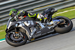 February 6, 2019 - Sepang, SGR, U.S. - SEPANG, SGR - FEBRUARY 06: Cal Crutchlow of LCR Honda Castrol in action during the first day of the MotoGP official testing session held at Sepang International Circuit in Sepang, Malaysia. (Photo by Hazrin Yeob Men Shah/Icon Sportswire) (Credit Image: © Hazrin Yeob Men Shah/Icon SMI via ZUMA Press)