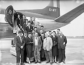 1957 - F.A.I. Youths team for tour of Germany.