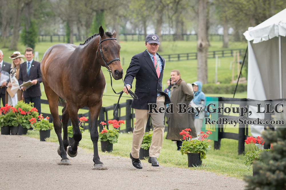 Phillip Dutton (USA) and Fernhill Cubalawn at the Rolex Kentucky Three-Day Event Presented by Land Rover in Lexington, Kentucky.