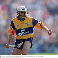 9 August 1998. Ger O'Loughlin, Clare. Offaly v Clare, All Ireland Hurling Semi Final, Croke Park, Dublin. Picture Credit: Ray McManus/SPORTSFILE
