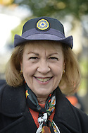 Merrick, New York, USA. SHARON WILLIAMS is at the 2016 annual Merrick Spooktacular hosted in part by the North and Central Merrick Civic Association (NCMCA). Sharon is a member of the Merrick American Legion Auxilliary 1282, and the post sponsored the holiday party at Fraser Park.