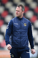Football - 2020 / 2021 Sky Bet League Two - Newport County  vs Cheltenham Town - Rodney Parade<br /> <br /> Newport County manager Michael Flynn.<br /> <br /> COLORSPORT/ASHLEY WESTERN