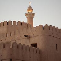 Minaret of a mosque in Nizwa.