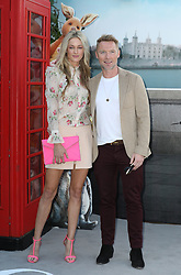 Storm Keating and Ronan Keating attend the European premiere of Christopher Robin at the BFI Southbank in London.