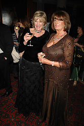 Left to right, ANNABEL ELLIOT and LADY ANNABEL GOLDSMITH at The Diner Des Tsars in aid of Unicef to celebrate the launch of Quintessentially Wine held at the Guildhall, London EC2 on 29th March 2007.<br /><br />NON EXCLUSIVE - WORLD RIGHTS