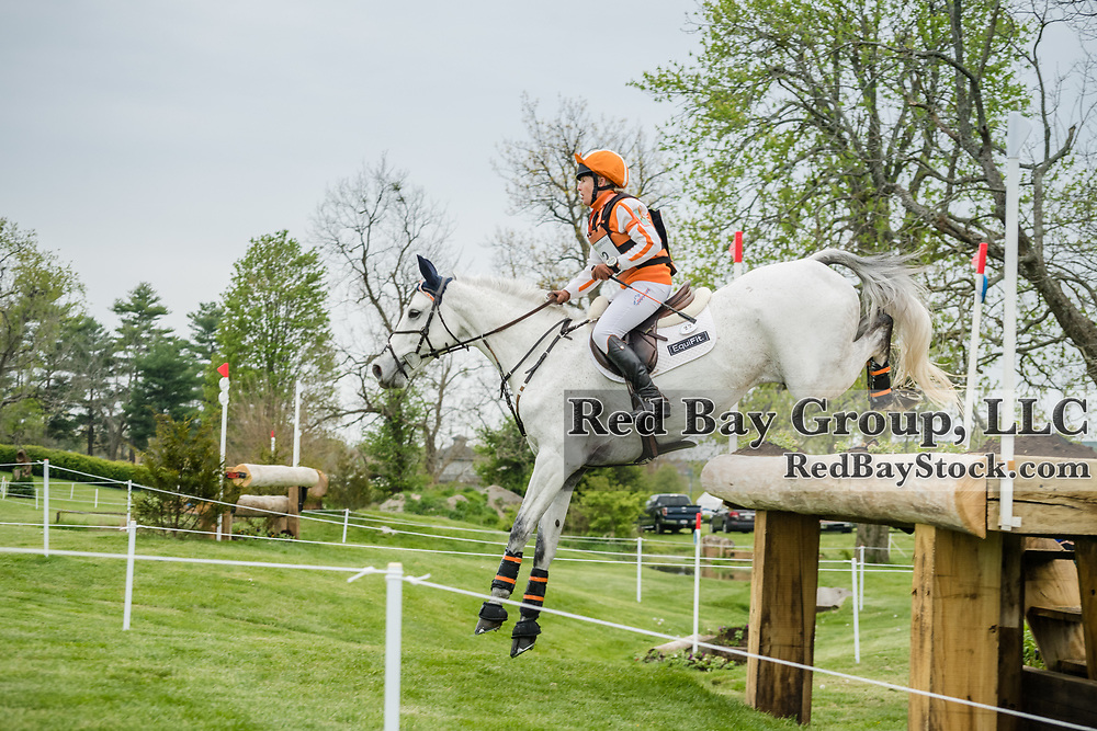 Sharon White (USA) and Cooley On Show at the Land Rover Kentucky Three-Day Event presented by MARS Equestrian held in Lexington, KY.