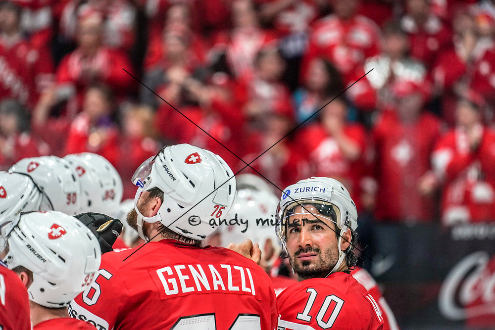 11.05.2019; Bratislava; Eishockey Weltmeisterschaft 2019 - Schweiz - Italien; Andres Ambuehl (SUI) (Andy Mueller/freshfocus)