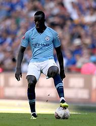 Manchester City'Äôs Benjamin Mendy in action