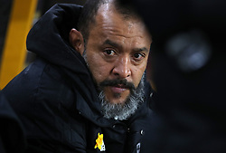 Wolverhampton Wanderers manager Nuno Espirito Santo during the FA Cup quarter final match at Molineux, Wolverhampton.
