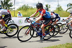 Ane Santesteban (ESP) at Stage 2 of 2019 OVO Women's Tour, a 62.5 km road race starting and finishing in the Kent Cyclopark in Gravesend, United Kingdom on June 11, 2019. Photo by Sean Robinson/velofocus.com