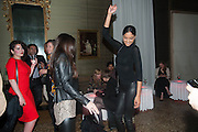 HEIDY DE LA RIOJA; , Andrea Dibelius of the EMDASH Foundation hosts party to celebrate the Austrian Pavilion and artist Mathias Poledna at the Venice Biennale. Palazzo Barbaro, Venice. 30 May 2013<br /> <br /> <br /> Venice. Venice Bienalle. 28 May 2013