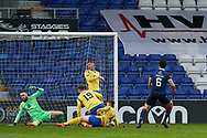 6 for Ross County Ross Draper scores during the Scottish Premiership match between Ross County FC and St Johnstone FC at the Global Energy Stadium, Dingwall, Scotland on 2 January 2021
