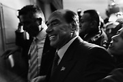 Silvio Berlusconi. Presentazione dell'ultimo libro di Bruno Vespa 'Soli al Comando'.  Tempio di Adriano. Roma 13 dicember 2017. Christian Mantuano/Oneshot<br />