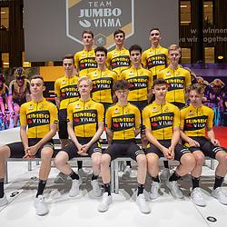 10-12-2019: Wielrennen: Teampresentatie Jumbo Visma: Amsterdam<br />Jumbo Visma Academyteam