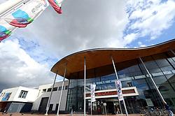 20150619 NED: World League Nederland - Portugal, Groningen<br /> De Nederlandse volleyballers hebben in de World League ook hun eerste duel met Portugal met 3-0 gewonnen / Martiniplaza klaar voor het eerste duel