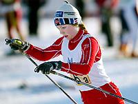 Langrenn, 2. mars 2003, Junior-NM, Anette Brøto, Ringkollen