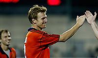 WK Hockey. Nederland-Pakistan 2-1. Met twee doelunten was Bram Lomans de man van de wedstrijd.