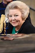 Nieuwjaarsreceptie in het Koninklijk Paleis op de dam voor het Corps Diplomatique<br /> <br /> Op de foto:   Prinses Beatrix / Princess Beatrix