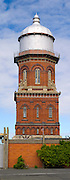 Invercargill's old Water Tower, the most prominent landmark in town; Invercargill, New Zealand