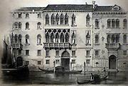 Illustration of the Palazzo Erizzo 1938.