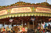 Colourful Merry-go-round