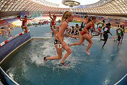 10.08.2013, Luzhniki Stadion, Moskau, RUS, IAAF Leichtathlekik Weltmeisterschaft, im Bild 3000 METRES STEEPLECHASE WOMEN // during the IAAF world athletics championships at Luzhniki stadium in Moscow on 2013/08/10. EXPA Pictures © 2013, PhotoCredit: EXPA/ Newspix/ Roman Bosiacki<br /> <br /> ***** ATTENTION - for AUT, SLO, CRO, SRB, BIH, TUR, SUI and SWE only *****