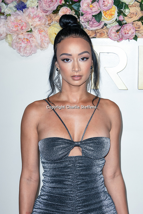 DRAYA MICHELE attends the 3rd Annual #REVOLVEawards at Goya Studios in Los Angeles, California