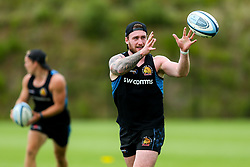 Stuart Hogg in action as Exeter Chiefs take part in stage one training as Premiership Rugby clubs take the first steps towards a return to play in August after the Covid-19 enforced break - Rogan/JMP - 19/06/2020 - RUGBY UNION - Sandy Park - Exeter, England - Gallagher Premiership.