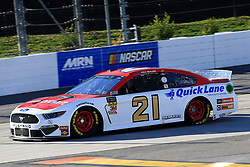 March 23, 2019 - Martinsville, VA, U.S. - MARTINSVILLE, VA - MARCH 23:  #21: Paul Menard, Wood Brothers Racing, Ford Mustang Motorcraft / Quick Lane Tire & Auto Center during practice for the STP 500 Monster Energy NASCAR Cup Series race on March 23, 2019 at the Martinsville Speedway in Martinsville, VA.  (Photo by David J. Griffin/Icon Sportswire) (Credit Image: © David J. Griffin/Icon SMI via ZUMA Press)