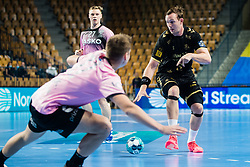 Sander Sagosen of THW Kiel during handball match between RK Celje Pivovarna Lasko (SLO) and THW Kiel (GER) in Group Phase B of EHF Champions League 2020/21, on 1 October, 2020 in Arena Zlatorog, Celje, Slovenia. Photo by Grega Valancic / Sportida