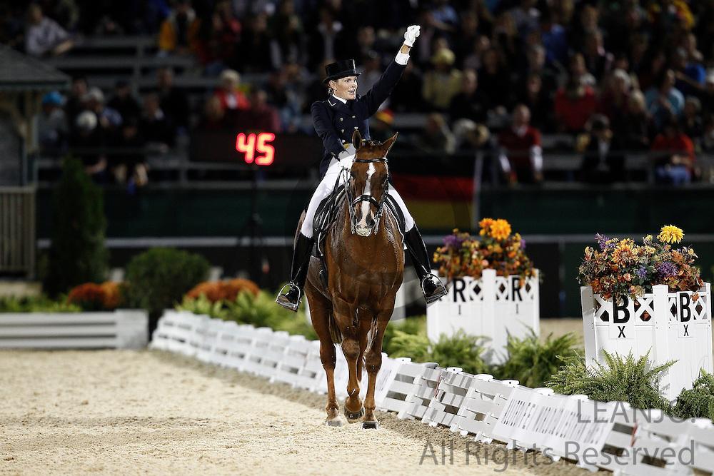Ashley Holzer - Pop Art<br /> Alltech FEI World Equestrian Games <br /> Lexington - Kentucky 2010<br /> © DigiShots