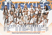 Naperville North High School Huskies Girls Lacrosse Team Schedule Poster Photography by Chicago Sports Photographer Chris W. Pestel