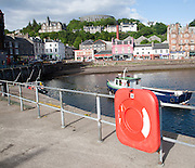 The quayside on North Pier, Oban, Argyll and Bute, Scotland, UK