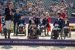 Wilson Georgia, GBR, Puch Pepo, AUT, Den Dulk Nicole, NED<br /> European Championship Para Dressage<br /> Rotterdam 2019<br /> © Hippo Foto - Dirk Caremans