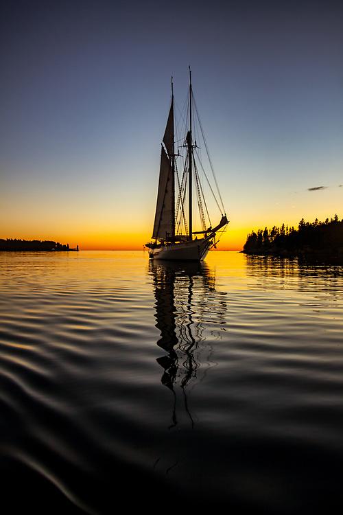 Mary Day Sunset, Isle au Haut