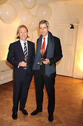 Left to right, STEVE SHARP M&S's marketing director and SIR STUART ROSE at Vogue's Fantastic Fashion Fantasy Party in association with Van Cleef & Arpels to celebrate Vogue's Secret Address Book held at One Marylebone Road, London NW1 on 3rd November 2008.