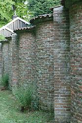 Hilverbeek, slangenmuur,  's-Graveland, Wijdemeren, Noord Holland, Netherlands