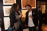 JACQUELINE FIRTH, ANNUAR AZIZ, `preview evening  in support of The Eve Appeal, a charity dedicated to protecting women from gynaecological cancers. Bonhams Knightsbridge, Montpelier St. London. 29 April 2019