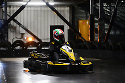 Dino Zamparelli go karting at Absolutely Karting - Mandatory by-line: Dougie Allward/JMP - 08/03/2018 - SPORT - Absolutely Karting - Bristol, England - Bristol Sport Absolutely Karting