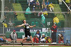 Aaron Brooks, men's discus champion, USA Olympic team