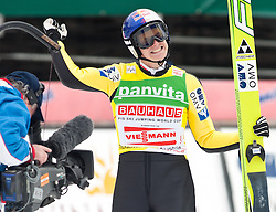 19.03.2011, Planica, Kranjska Gora, SLO, FIS World Cup Finale, Ski Nordisch, Skiflug Teambewerb, im Bild Thomas Morgenstern (AUT) // Thomas Morgenstern (AUT) during team event of the Ski Jumping World Cup finals in Planica, Slovenia, 19/3/2011. EXPA Pictures © 2011, PhotoCredit: EXPA/ J. Groder
