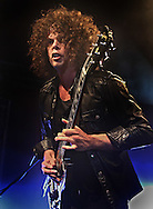 PERTH, AUSTRALIA - SEPTEMBER 23:  Andrew Stockdale of the band Wolfmother performs on stage at the Capitol on September 23, 2009 in Perth, Australia.  (Photo by Paul Kane/Getty Images)
