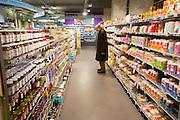 De biologische supermarkt EkoPlaza in Bussum